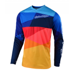 Troy Lee Designs Kinder Cross Shirt 2019 GP AIR Jet - Navy / Oranje